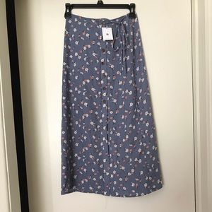 NWT Urban Outfitters Floral Skirt